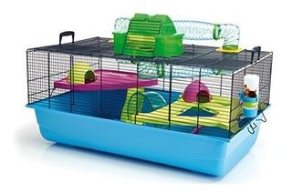 Jaula De Hamster Lixit Animal Care De Plástico Con Accesori