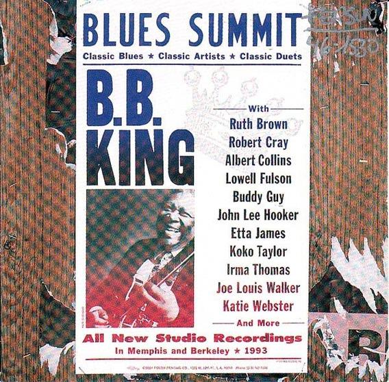 Bb King Blues Summit Cd Nuevo Importado En Stock