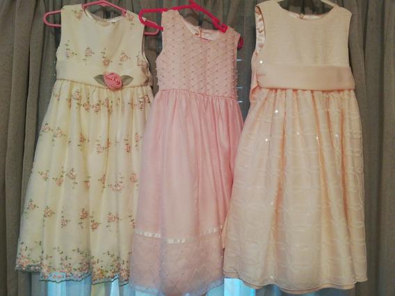 Vestidos De Fiesta Importados Talle 3 Años (grande)