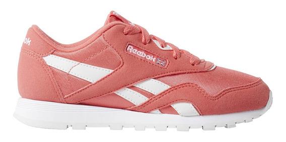 Zapatillas Reebok Moda Cl Nylon Mu Niña Co/bl
