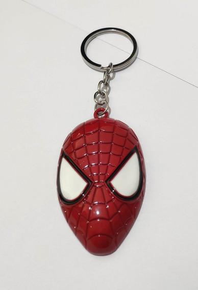 Chaveiro Metálico Marvel Vingadores Homem Aranha Spiderman
