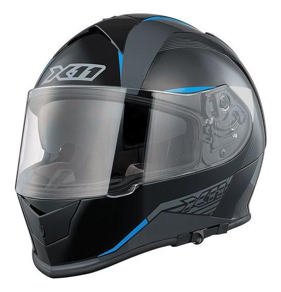 Capacete Para Motociclista Revo X11 Fechado Integral A Vista