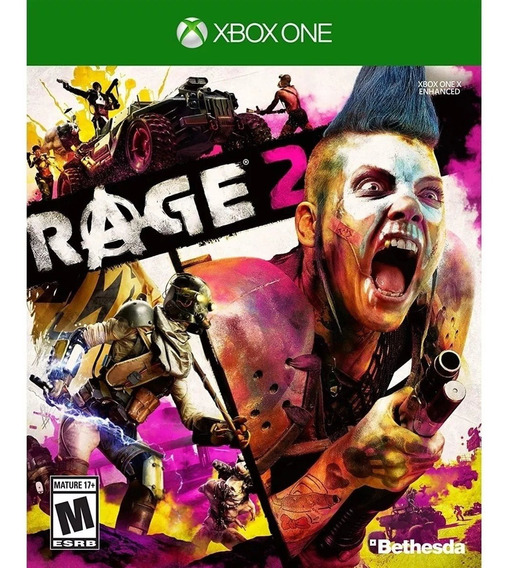 Rage 2 Xbox One Mídia Física Lacrado Novo Rj ( Em Inglês )