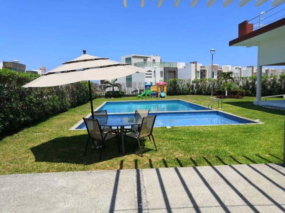 Casa En Venta En Residencial Mallorca, Riviera Veracruzana.