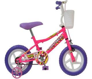 Bicicleta Tomaselli Mini Rodado 12 Mujer