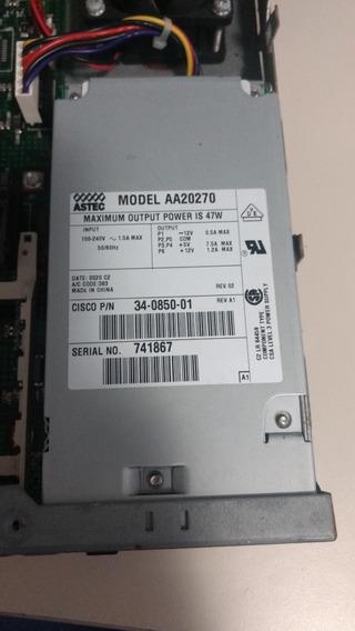 Fonte Cisco 47w Mod. Aa20270 Cisco P/n 34-0850-01