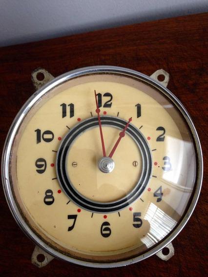 Antiguo Reloj De Carro Coche Automóvil Años 50