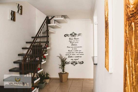 Apartamento Duplex Com 2 Dormitórios À Venda Por R$ 265.000 - Bosque Dos Eucaliptos - São José Dos Campos/sp - Ad0005