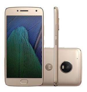 Motorola Moto G5 Plus 32gb Xt1683 Ouro Vitrine