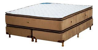 Sommier Y Colchón Coihue Suite Pillow 1.30mts Línea Hotelera