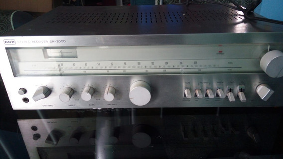Receiver Cce Sr-2000 Original Impecável /gradiente/aiwa