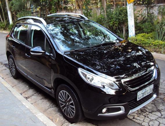 Carro Peugeot 2008 Ano 2018 Preto Semi Novo 1 Ano Garantia