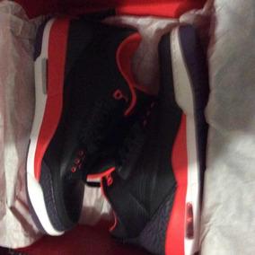 Tenis Jordan Retro 3 Crimson