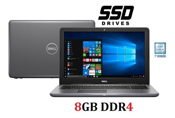 Ultrabook Gamer Dell I5 7 Gen 8gb/ Ssd 480gb /tela 15.6
