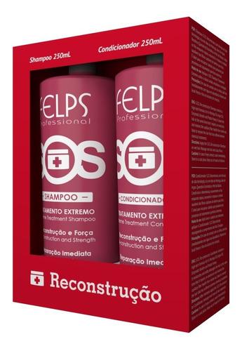 Felps Kit Duo Sos Shampoo + Condicionador 250ml