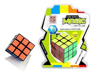 Cubo Magico Clasico Cube Magic World 3x3 Educando Full