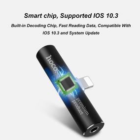 Adap Apple Lightning Para Som E Carregamento 2 Em 1 Iphone 7