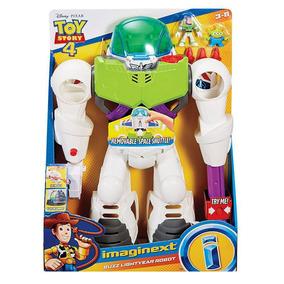 Imaginext Toy Story Robô Buzz Lightyear- Mattel