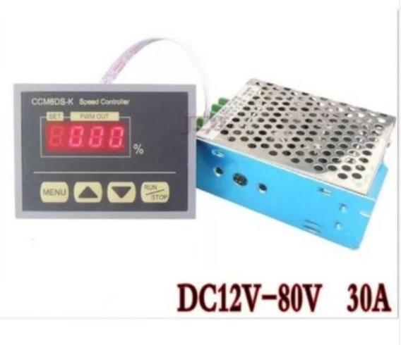 Controlador De Velocidade Dc 12 V A 80v 30a Pwm Original