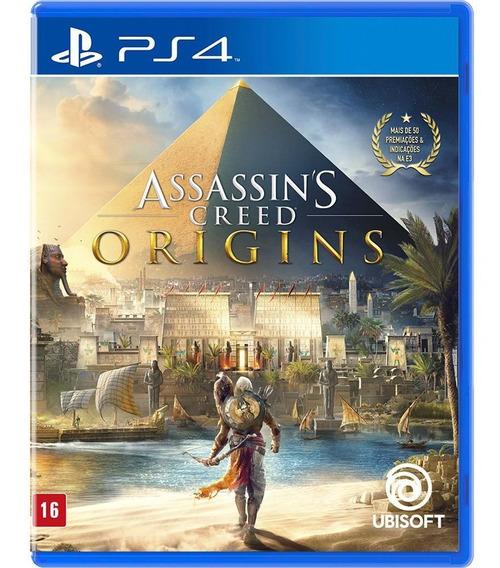 Assassins Creed Origins Ps4 Em Português Midia Fisica