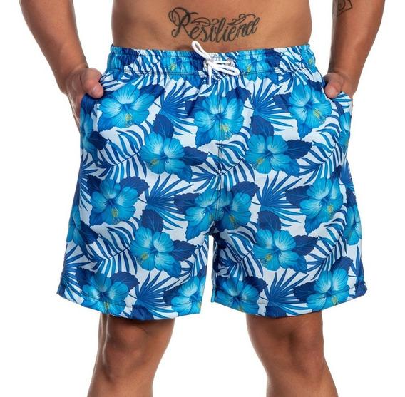 Short Mauricinho De Praia Masculino Estampado Da Moda Oferta