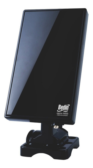 Antena Digital Amplificada Vhf E Uhf Fm Hdtv-9000 Bedin Sat