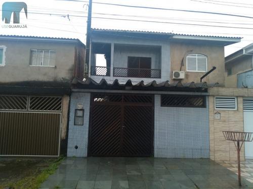 Sobrado A Venda No Bairro Jardim Progresso Em Guarujá - Sp.  - 847-1