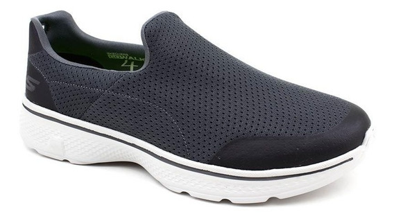 Tênis Skechers Go Walk 4 Incredible 54152 Charcoal Pixolé