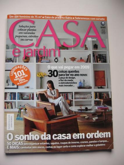 Revista Casa E Jardim - Nº 648 - O Sonho Da Casa Em Ordem