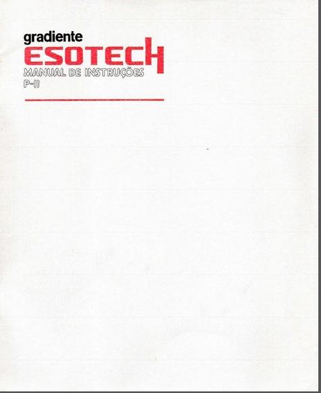 Manual Do Usuario System Esotech Gradiente 5 Livros