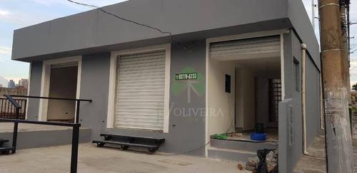 Imagem 1 de 3 de Salão Para Alugar, 50 M² Por R$ 2.300,00/mês - Jardim Monte Kemel - São Paulo/sp - Sl0009