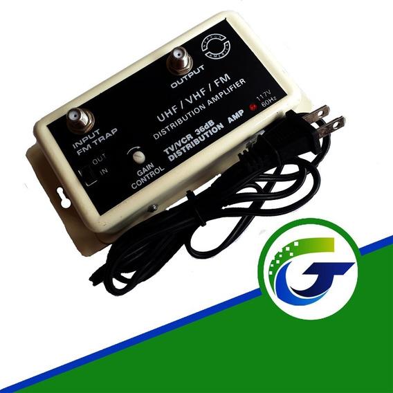 Amplificador Señal Tv Uhf 36 Db