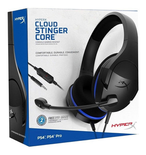 Auriculares Hyperx Cloud Stinger Core Pcxbox Ps4 Gamer Cuota