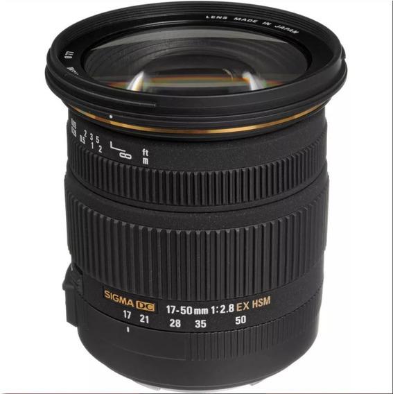 Lente Sigma 17-50mm F/2.8 Ex Dc Autofoco Canon