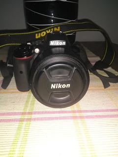 Nikon D5300 Con Lente Nikkor 50 Mm 1.4 Af-s