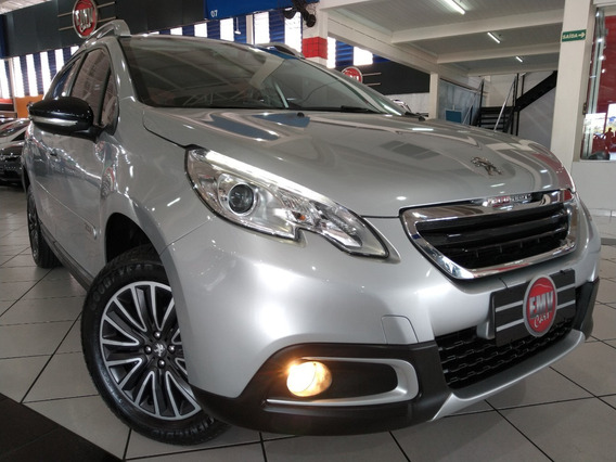 Peugeot 2008 1.6 Flex Allure Automático 2019 - Prata