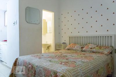 Studio No 9º Andar Mobiliado Com 1 Dormitório - Id: 892871635 - 171635