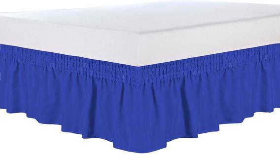 Saia P/ Cama Box Casal Padrão 1 Peça Varias Cores #05