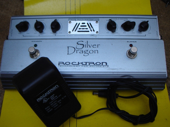 Pedal Rocktron Silver Dragon Valvulado + Fonte Original