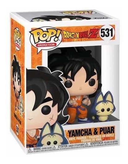 Funko Pop Yamcha Y Puar 531 Dragon Ball Z Goku