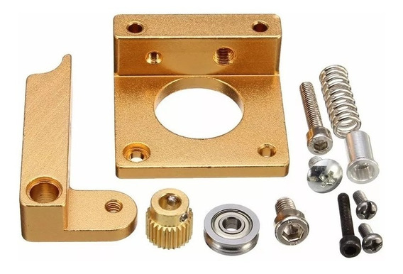 Kit Extrusora Para 3d Printer 1.75mm Mk8 Em Aluminio