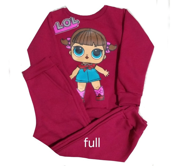 Kit 3 Conjuntos Inverno Moletom Infantil Menina