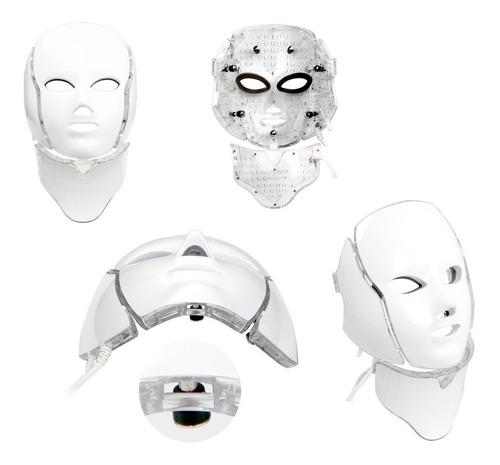 Mascara Led Tratamiento Facial 7 Colores Belleza Y Cuidado