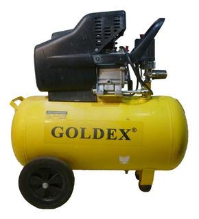 Compresor De Aire Goldex De 50 Lts Y 2 Hp