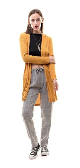Pantalon Babucha A Cuadros En 8 Talles Axioma