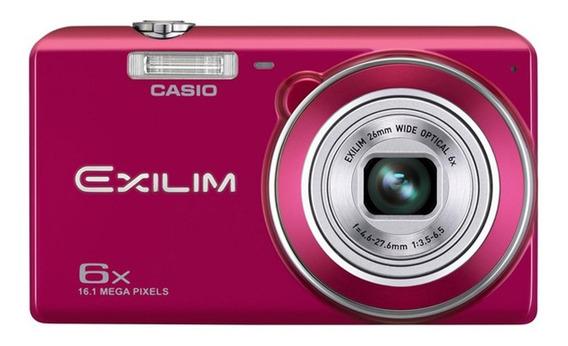 Cámara Casio Ex-zs20 16.1 Mp Zoom 6x Color Rojo