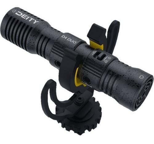 Imagen 1 de 8 de Microfono Deity V-mic D4 Doble Shotgun Para Camaras