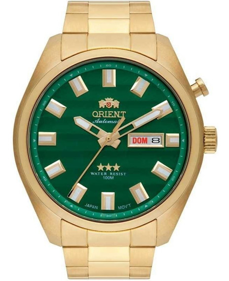 Relógio Orient Analógico Automático 469gp076e1kx Dourado