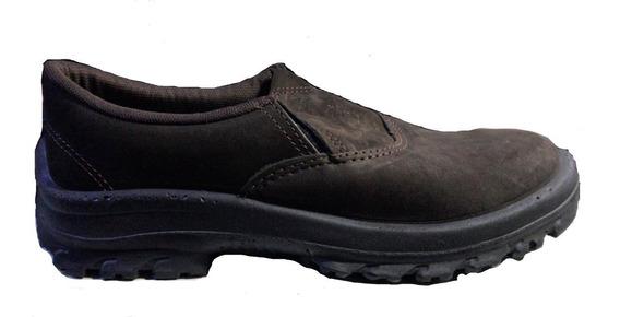 Sapato Elástico De Segurança Cartom R64 Sem Bico De Aço Epi