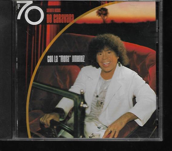 Carlos La Mona Jimenez Album 70 Discos De Caravana Cd Nuevo